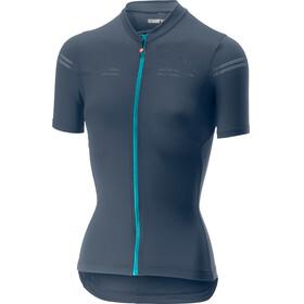 Castelli Promessa 2 FZ Jersey Women dark steel/blue